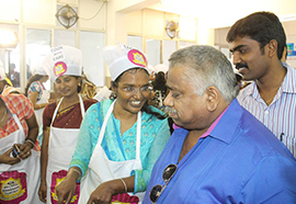 Chef Dhamu Judge - Sakthi Dairy
