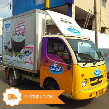 Sakthi Dairy Product Distribution