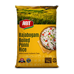 Shop Rajabogam Boiled Ponni Rice 25Kg